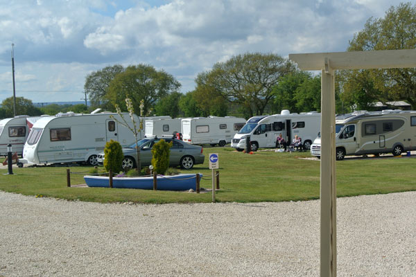 Touring and Camping at Wolds View
