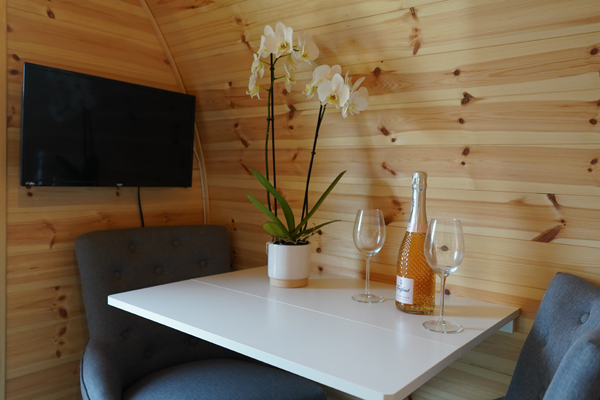 Glamping at Wolds View
